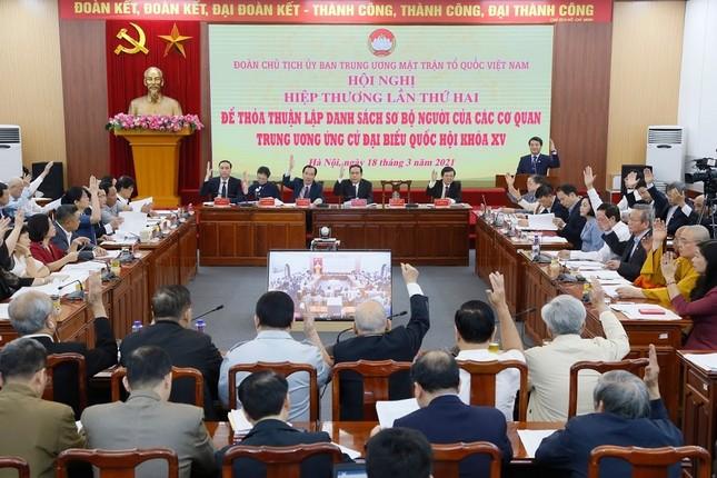 Ông Nguyễn Xuân Phúc ứng cử khối Chủ tịch nước, ông Phạm Minh Chính ứng cử khối Chính phủ ảnh 1