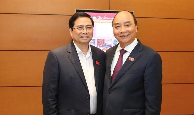 Trình Quốc hội miễn nhiệm Thủ tướng Chính phủ Nguyễn Xuân Phúc ảnh 1