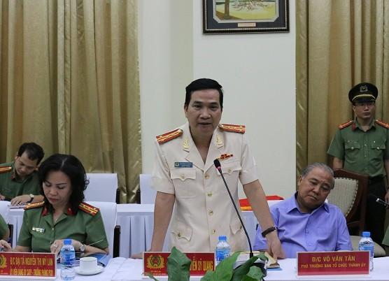 Đại tá Nguyễn Sỹ Quang làm Phó Giám đốc Công an TPHCM ảnh 1