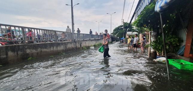 Người Sài Gòn xây 'lô cốt' chống ngập ảnh 16
