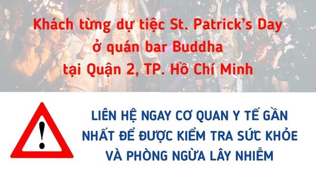 Thông báo khẩn tìm khách dự tiệc St. Patrick's Day tại quán bar ở Thảo Điền ảnh 1