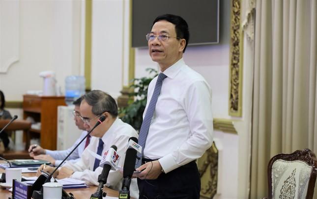 """Bộ trưởng Nguyễn Mạnh Hùng: Phải xác định dữ liệu quý như """"dầu mỏ"""" ảnh 2"""
