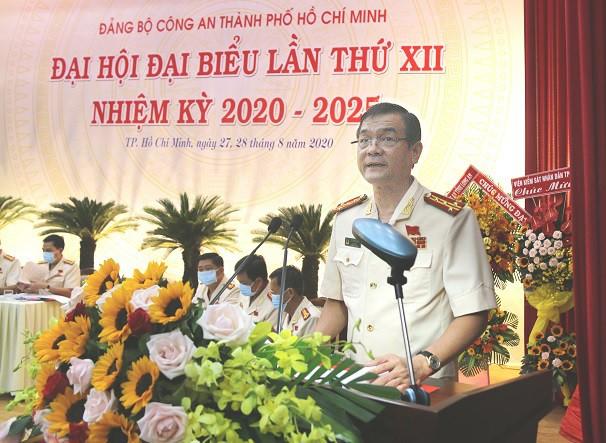 Đại tá Lê Hồng Nam được bầu giữ chức Bí thư Đảng ủy Công an TPHCM ảnh 1