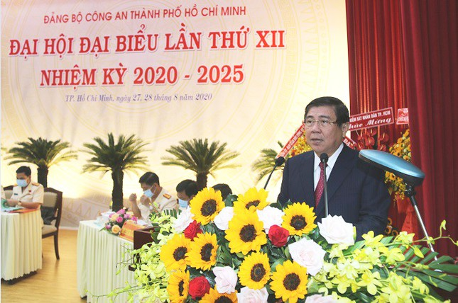 Đại tá Lê Hồng Nam được bầu giữ chức Bí thư Đảng ủy Công an TPHCM ảnh 4