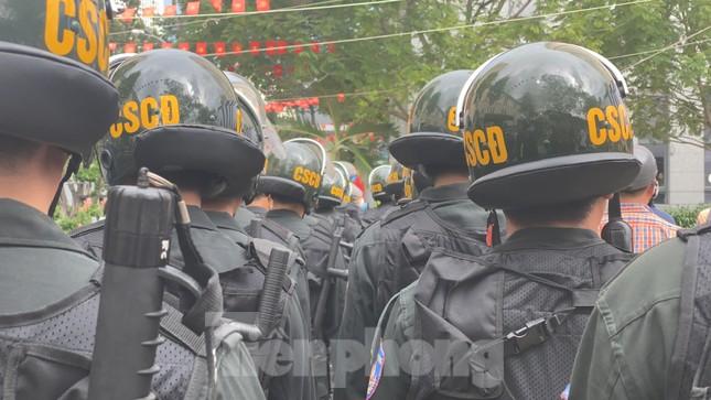 Thiếu tướng Lê Hồng Nam phát động ra quân trấn áp tội phạm ảnh 9