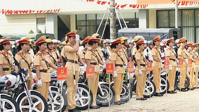 Thiếu tướng Lê Hồng Nam phát động ra quân trấn áp tội phạm ảnh 10