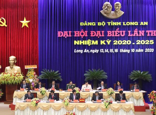 Hình ảnh lãnh đạo Trung ương dự khai mạc Đại hội Đảng bộ Long An ảnh 4