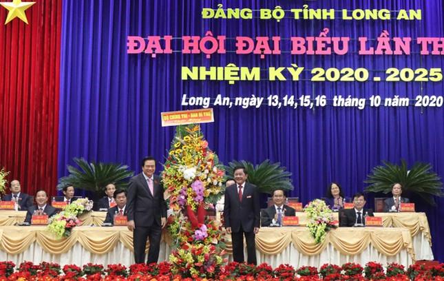 Hình ảnh lãnh đạo Trung ương dự khai mạc Đại hội Đảng bộ Long An ảnh 3