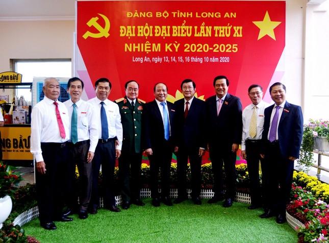 Hình ảnh lãnh đạo Trung ương dự khai mạc Đại hội Đảng bộ Long An ảnh 6