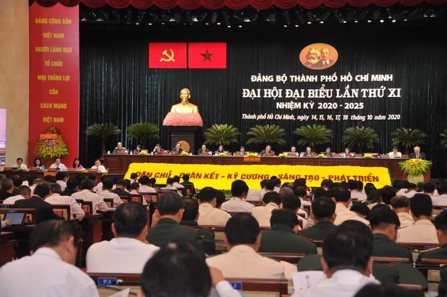 Hình ảnh lãnh đạo Đảng, Nhà nước dự Đại hội Đảng bộ TPHCM ảnh 10