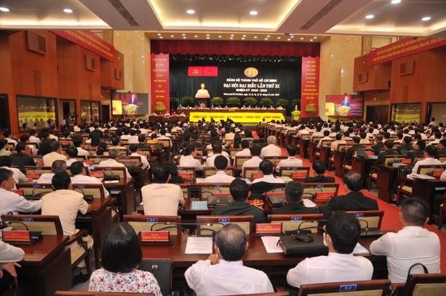 Thủ tướng Nguyễn Xuân Phúc chỉ đạo Đại hội Đảng bộ TPHCM ảnh 5