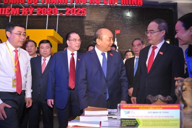 Hình ảnh lãnh đạo Đảng, Nhà nước dự Đại hội Đảng bộ TPHCM ảnh 3