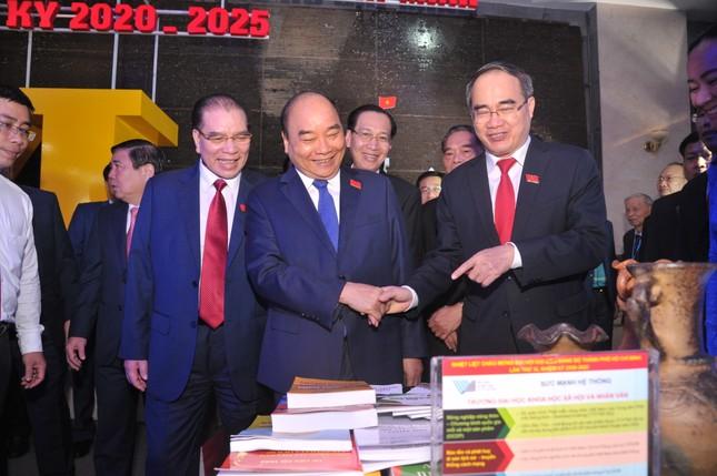 Hình ảnh lãnh đạo Đảng, Nhà nước dự Đại hội Đảng bộ TPHCM ảnh 1