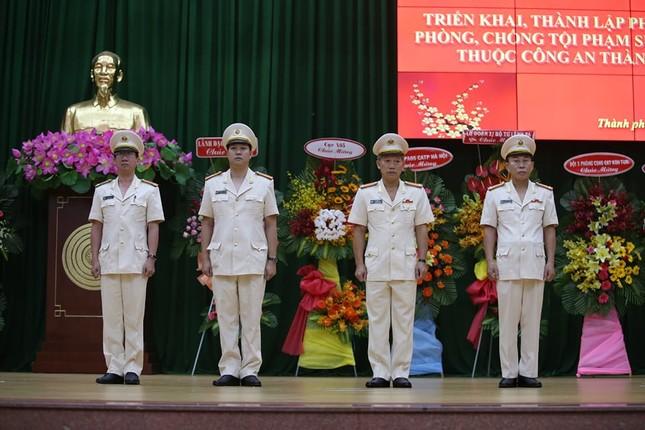 Thượng tá Nguyễn Thế Lâm giữ chức Trưởng phòng An ninh mạng Công an TPHCM ảnh 1