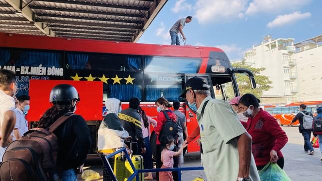 Người dân 'đủng đỉnh' trở lại TPHCM sau Tết ảnh 5