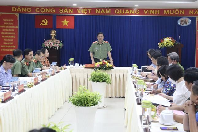 Giám đốc Công an TPHCM kiểm tra công tác bảo vệ bầu cử ảnh 1
