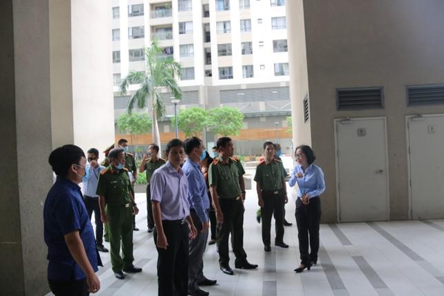 Giám đốc Công an TPHCM kiểm tra công tác bảo vệ bầu cử ảnh 2