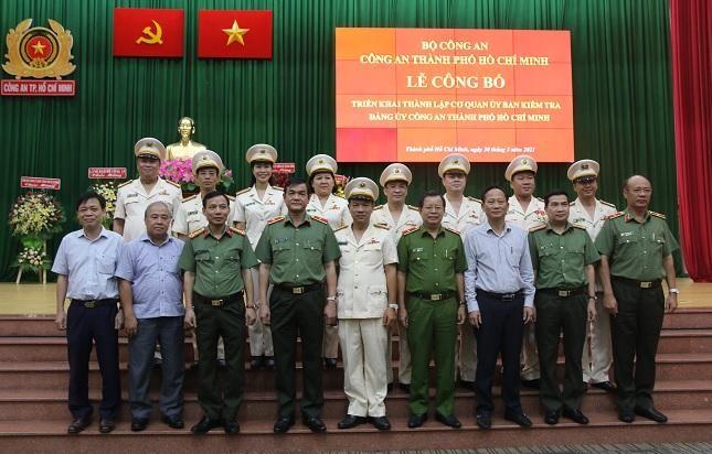 Thành lập Ủy ban kiểm tra Đảng ủy Công an TPHCM ảnh 3