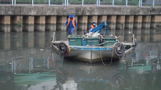 Hai cơn mưa ở TPHCM làm chết gần 14 tấn cá trên kênh ảnh 7