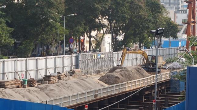 Metro số 1 sắp 'trả' mặt bằng khu đất vàng trung tâm TPHCM ảnh 12