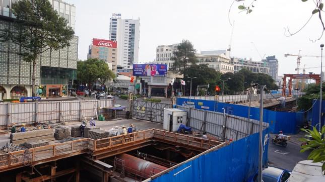 Metro số 1 sắp 'trả' mặt bằng khu đất vàng trung tâm TPHCM ảnh 11