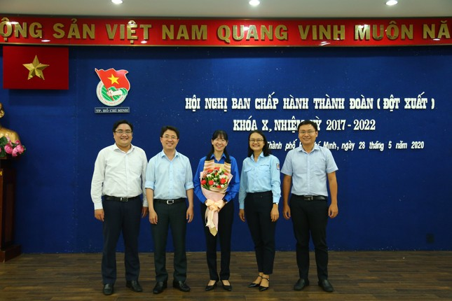 Tân Bí thư Thành Đoàn TP. HCM: Chị Phan Thị Thanh Phương ảnh 1