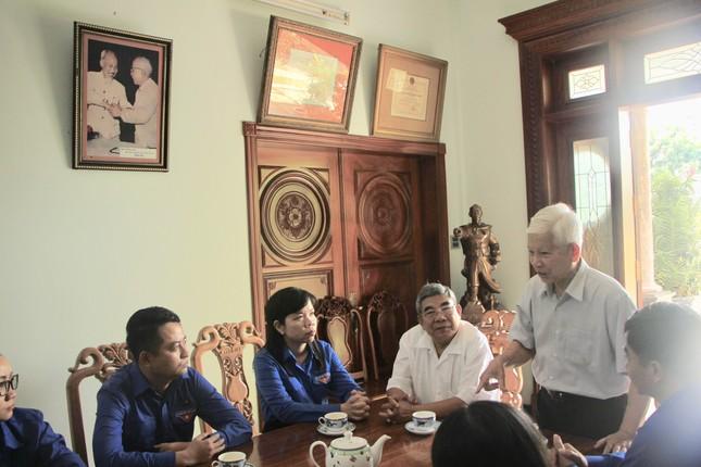 Thanh niên Bình Dương - Bình Phước tri ân nguyên Chủ tịch nước Nguyễn Minh Triết ảnh 1