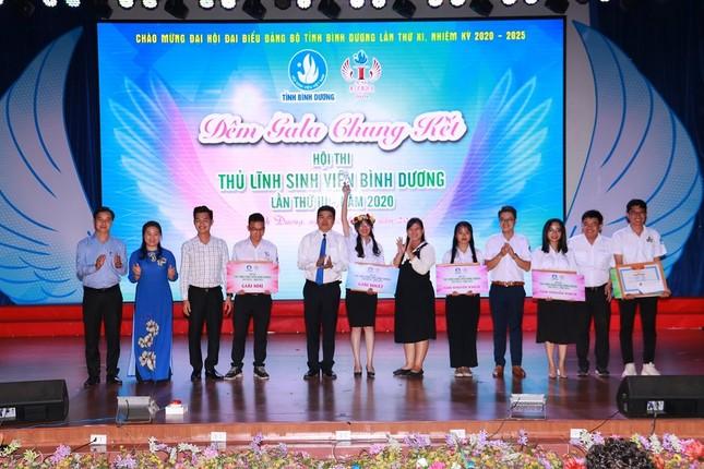 Chung kết Hội thi Thủ lĩnh sinh viên tỉnh Bình Dương ảnh 1