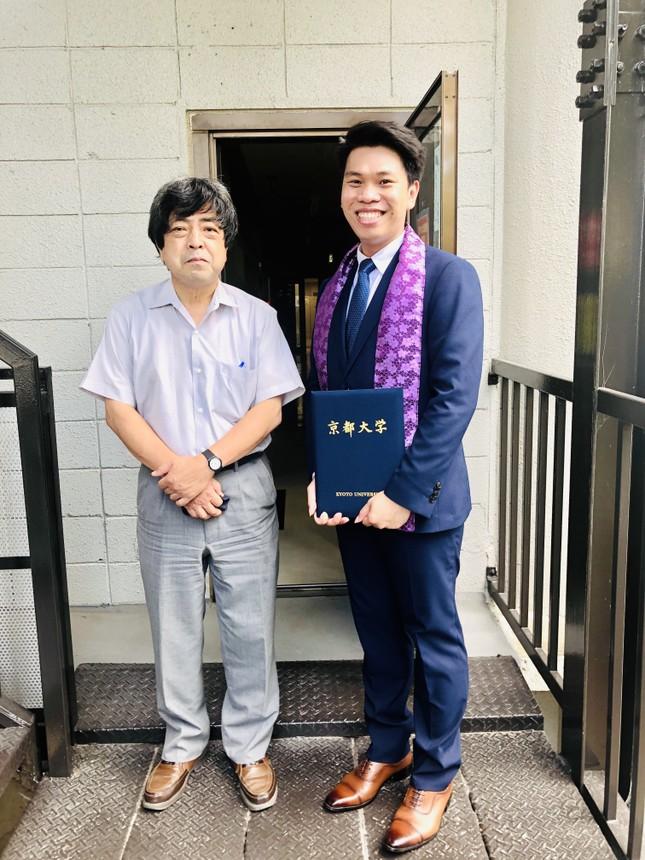 Tiến sĩ trẻ Huỳnh Tấn Lợi và ước muốn cống hiến trong ngành Môi trường  ảnh 1