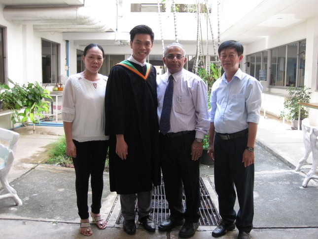 Tiến sĩ trẻ Huỳnh Tấn Lợi và ước muốn cống hiến trong ngành Môi trường  ảnh 5