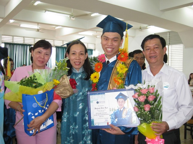 Tiến sĩ trẻ Huỳnh Tấn Lợi và ước muốn cống hiến trong ngành Môi trường  ảnh 2