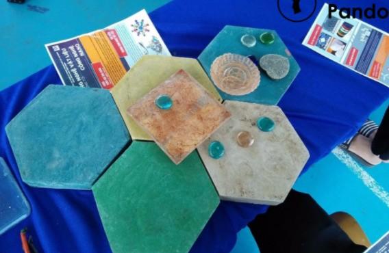 Chế vật liệu xây dựng thân thiện môi trường từ rác thải nhựa ảnh 1