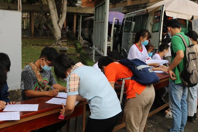 Hội Sinh viên trường ĐH KHTN (ĐHQG TP. HCM) tổ chức chương trình hiến máu tình nguyện ảnh 5