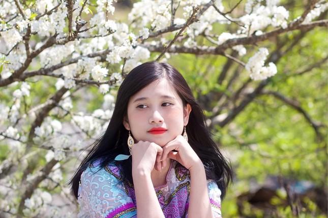 """Cô giáo trẻ hóa thân thành """"nàng thơ"""" giữa rừng hoa mận Sa Pa ảnh 6"""