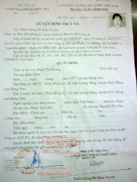 Lừa bán các cô gái nhẹ dạ làm 'đồ chơi' cho đàn ông Trung Quốc ảnh 1