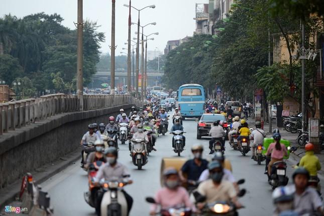 Chặn một chiều đường Kim Mã thi công Metro ảnh 3