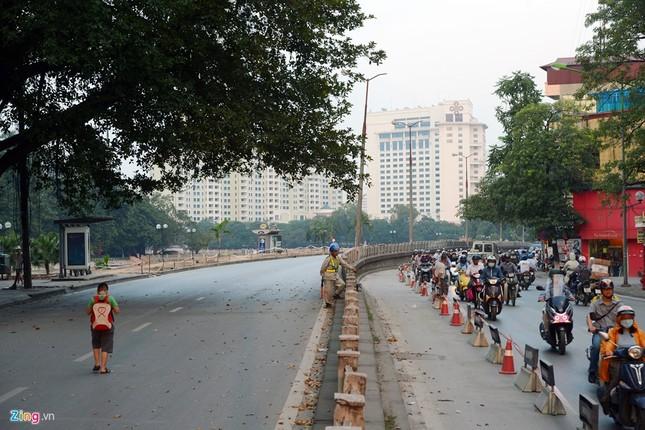Chặn một chiều đường Kim Mã thi công Metro ảnh 5