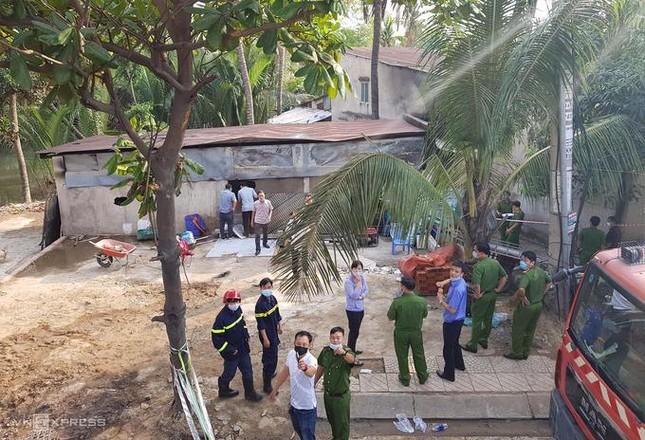 Hiện trường tang thương trong vụ cháy khiến gia đình 6 người tử vong ảnh 2