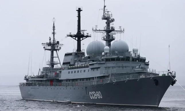 Tàu hộ vệ Việt Nam trong lần đầu duyệt binh hải quân tại Nga ảnh 5