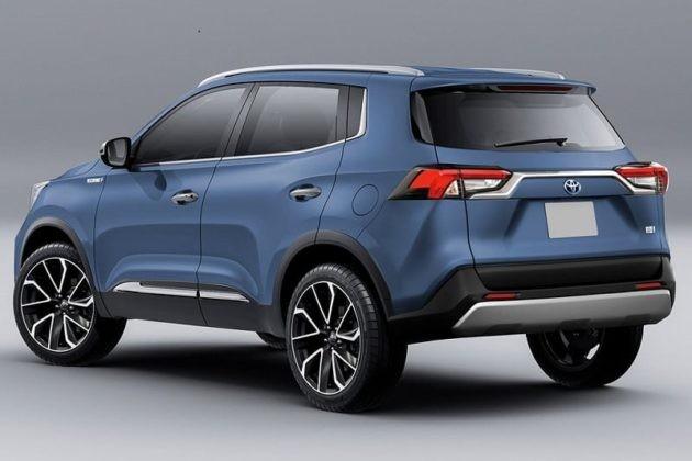 SUV cỡ nhỏ Toyota Rise sắp ra mắt toàn cầu ảnh 1