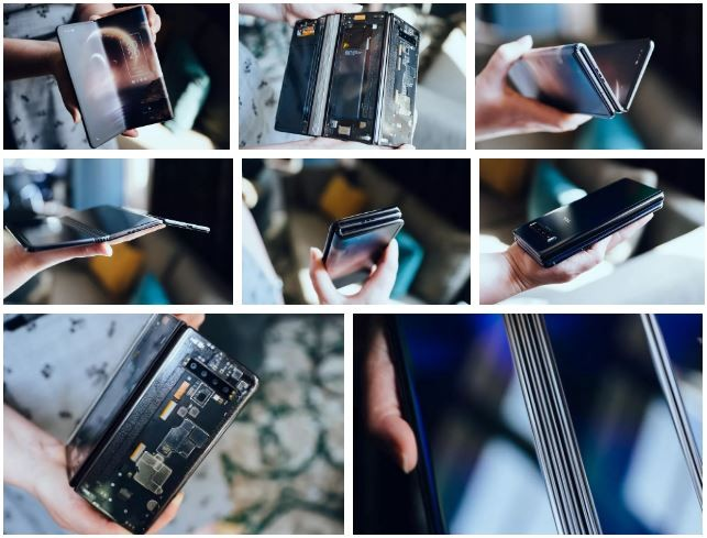 Khám phá smartphone màn hình gập làm 3 dị nhất hiện nay ảnh 3