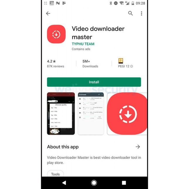Một sinh viên Việt Nam bị phát hiện đăng tải 42 ứng dụng Android chứa mã độc ảnh 2