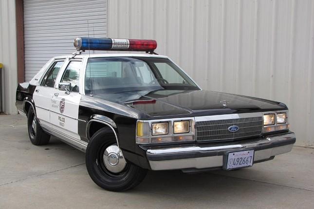 Lịch sử của những chiếc xe cảnh sát 'siêu ngầu' tại Mỹ ảnh 4