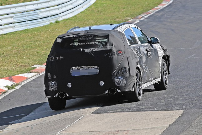 Hyundai Kona phiên bản hiệu suất cao lộ ảnh chạy thử ảnh 2