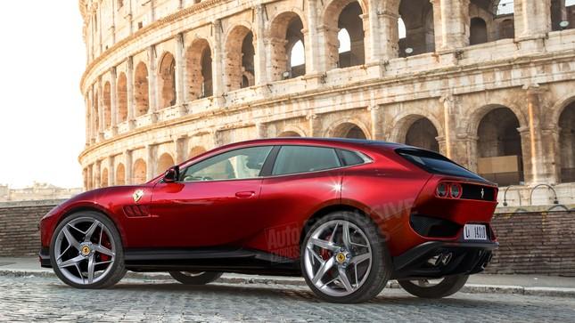 Siêu SUV của Ferrari sẽ có những gì? ảnh 1