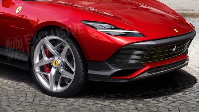 Siêu SUV của Ferrari sẽ có những gì? ảnh 2