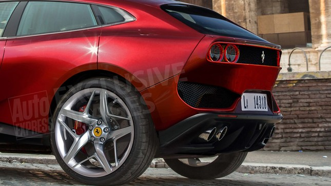 Siêu SUV của Ferrari sẽ có những gì? ảnh 3