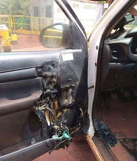 Để nước rửa tay khô trong ôtô gây hỏa hoạn ảnh 1