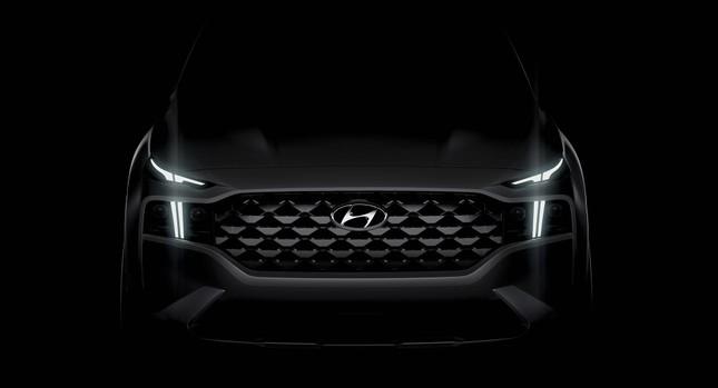 Hyundai tung ảnh ban đầu về Santa Fe 2021 ảnh 2