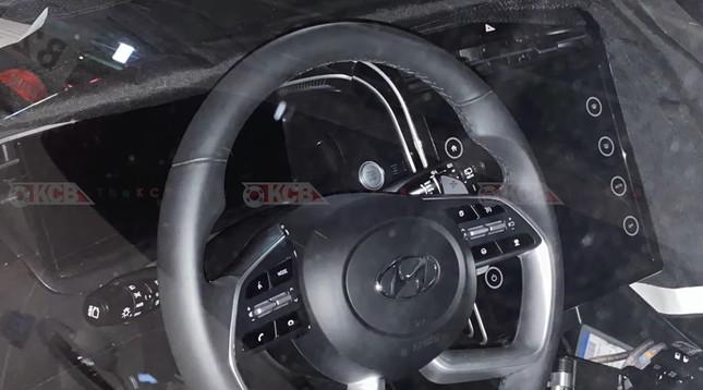 Lộ diện nội thất Hyundai Tucson thế hệ mới với màn hình cỡ lớn ảnh 1